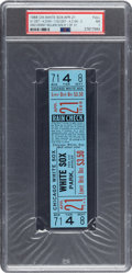 Baseball Collectibles:Tickets, 1968 Denny McLain First Victory of Thirty-One Win Season Full Ticket, PSA NM 7....