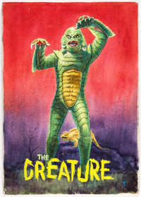 The Creature From the Black Lagoon Painting (undated)