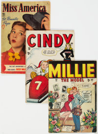 """Golden to Silver Age """"Good Girl"""" Group of 4 (Various Publishers, 1947-61) Condition: Average GD.... (Total: 4..."""