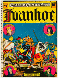 Classic Comics #2 Ivanhoe - First Edition (Elliott Publishing, 1941) Condition: GD