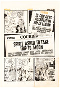 Original Comic Art:Panel Pages, Will Eisner Studio The Spirit Section Story Page Original Art dated 8-17-52 (Register and Tribune Syndicate, 1940)...