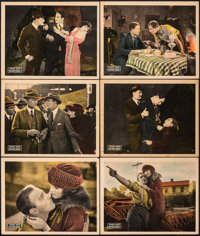 "The First Degree (Universal, 1923). Overall: Very Fine-. Lobby Cards (6) (11"" X 14""). Western. ... (Total: 6 I..."
