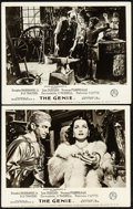 """Movie Posters:Drama, The Genie (British Lion, 1953). Very Fine-. British Front of House Photos (2) (8"""" X 10""""). Drama.. ... (Total: 2 Ite..."""