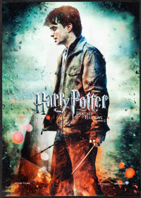 Harry Potter and the Deathly Hollows: Part 2 & Other Lot (Warner Bros., 2011). Very Fine. British Lenticular &am...