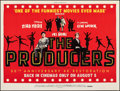 "Movie Posters:Comedy, The Producers & Other Lot (Studiocanal, R-2018). Rolled, Very Fine+. British Quads (2) (30"" X 40"") & Horizontal German A1 (3... (Total: 3 Items)"