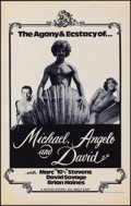 "Movie Posters:Adult, Michael, Angelo and David & Other Lot (1976). Rolled, Very Fine-. Posters (4) (19"" X 30""). Adult.. ... (Total: 4 Items)"
