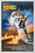 "Movie Posters:Science Fiction, Back to the Future (Universal, 1985). Rolled, Very Fine/Near Mint. One Sheet (27"" X 41"") SS. Drew Struzan Artwork. Science F..."