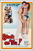 "Movie Posters:Comedy, Stuck on You (Troma/Embassy Home Entertainment, 1982/R-1984). Folded, Very Fine-. One Sheet (27"" X 41"") & Video Poster (27"" ... (Total: 2 Items)"