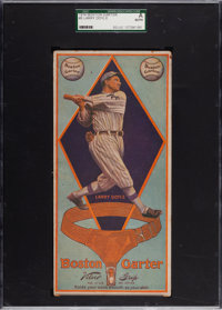 1914 Boston Garter Larry Doyle #8 SGC Authentic - Only Two Graded Examples Known!