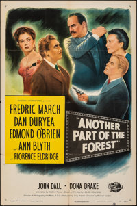 "Another Part of the Forest (Universal International, 1948). Folded, Very Fine-. One Sheet (27"" X 41""). Drama..."