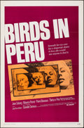 "Movie Posters:Foreign, Birds in Peru & Other Lot (Universal, 1968). Folded, Very Fine. One Sheet (27"" X 41"") & Australian Daybill (13.25"" X 30""). F... (Total: 2 Items)"
