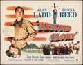 "Movie Posters:Drama, Beyond Glory & Other Lot (Paramount, 1948). Rolled, Fine+. Half Sheets (2) (22"" X 28""). Drama.. ... (Total: 2 Items)"