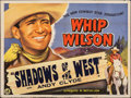 """Movie Posters:Western, Shadows of the West & Other Lot (British Lion, 1949). Folded, Fine/Very Fine. British Quads (2) (30"""" X 40""""). Western.. ... (Total: 2 Items)"""