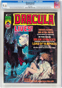Dracula Lives! #5 (Marvel, 1974) CGC NM+ 9.6 White pages