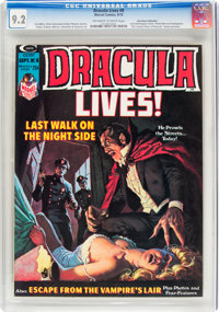 Dracula Lives! #8 Don Rosa Collection (Marvel, 1974) CGC NM- 9.2 Off-white to white pages