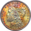 Morgan Dollars: , 1885 $1 MS65+ PCGS. CAC. PCGS Population: (9561/1781 and 181/191+). NGC Census: (10823/2002 and 115/59+). MS65. Mintage 17,...