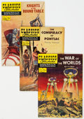 Golden Age (1938-1955):Classics Illustrated, Classics Illustrated Original Editions Group of 10 (Gilberton, 1953-61) Condition: Average FN/VF.... (Total: 10 Comic Books)