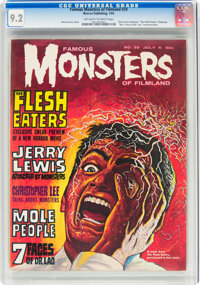 Famous Monsters of Filmland #29 (Warren, 1964) CGC NM- 9.2 Off-white to white pages