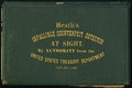 Fractional Currency:Shield, Heath's Infallible Counterfeit Detector Pocket Second Edition 1866 Newman 2-P-S Fine.. ...
