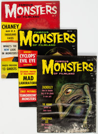 Famous Monsters of Filmland Group of 21 (Warren, 1959-68) Condition: Average GD/VG.... (Total: 21 Items)