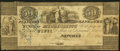 Obsoletes By State:Mississippi, Natchez, MS- Planters Bank of the State of Mississippi $50 Mar. 1, 1833 Fine.. ...