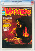 Magazines:Horror, Famous Monsters of Filmland #67 (Warren, 1970) CGC NM+ 9.6 White pages....