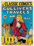 Golden Age (1938-1955):Classics Illustrated, Classic Comics #16 Gulliver's Travels - First Edition (Gilberton, 1943) Condition: VG....