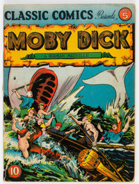 Classic Comics #5 Moby Dick (Gilberton, 1942) Condition: VG