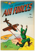 Golden Age (1938-1955):War, The American Air Forces #1 (Wm. H. Wise & Co., 1944) Condition: FN-....
