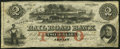 Obsoletes By State:Michigan, Adrian, MI- Erie and Kalamazoo Rail Road Bank $2 Aug. 1, 1853 Remainder Very Fine.. ...