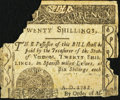 Colonial Notes:Vermont, Vermont February 1781 20s Poor.. ...