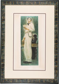 Antiques:Decorative Americana, Abraham Lincoln: Limited Edition Signed Norman Rockwell Print. ...
