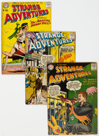 Strange Adventures Group of 9 (DC, 1957-61) Condition: Average VG.... (Total: 9 Comic Books)