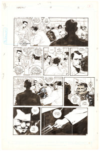 Kyle Baker The Shadow #8 Story Page 3 Original Art (DC, 1988)