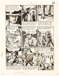 Original Comic Art:Panel Pages, John Severin Two-Fisted Tales #37 Story Page 7 Original Art (EC, 1954)....