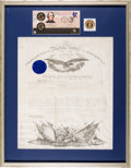 Autographs:U.S. Presidents, Andrew Johnson: Signed Military Commission....