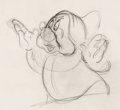 Animation Art:Production Drawing, Snow White and The Seven Dwarfs Doc Animation Drawing (Walt Disney, 1937).. ...
