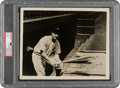 Baseball Collectibles:Photos, Late 1930's Lou Gehrig Signed Photograph, PSA/DNA Mint 9....