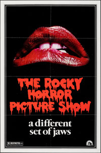 "The Rocky Horror Picture Show (20th Century Fox, 1975). Folded, Very Fine-. One Sheet (27"" X 41"") Teaser, Styl..."