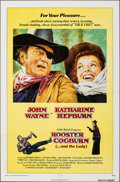 "Movie Posters:Western, Rooster Cogburn (Universal, 1975). Folded, Very Fine+. One Sheet (27"" X 41""). Western.. ..."