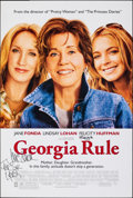 "Movie Posters:Comedy, Georgia Rule & Other Lot (Universal, 2007). Folded, Fine/Very Fine. Autographed One Sheets (2) (27"" X 40"") DS. Comedy..."