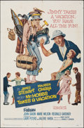 "Movie Posters:Comedy, Mr. Hobbs Takes a Vacation & Other Lot (20th Century Fox, 1962). Folded, Very Fine-. One Sheets (2) (27"" X 41""). Come..."