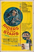 """Movie Posters:Science Fiction, Riders to the Stars (United Artists, 1954). Folded, Fine/Very Fine. One Sheet (27"""" X 41""""). Science Fiction.. ..."""