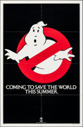 """Movie Posters:Comedy, Ghostbusters (Columbia, 1984). Folded, Very Fine-. One Sheet (27"""" X 41"""") Teaser Style. Comedy.. ..."""