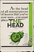 "Movie Posters:Horror, The Head & Other Lot (Trans Lux, 1959). Folded, Overall: Fine. One Sheets (3) (27"" X 41""). Horror.. ... (Total: 3 Items)"