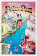 """Movie Posters:Animation, Peter Pan & Other Lot (Buena Vista, R-1989). Folded, Fine+. One Sheets (2) (27"""" X 41""""). Animation.. ... (Total: 2 I..."""