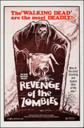 """Movie Posters:Horror, Revenge of the Zombies & Other Lot (World Northal, 1981). Folded, Very Fine-. One Sheets (2) (27"""" X 41""""). Horror.. ... (Total: 2 Items)"""