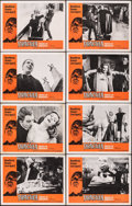 """Movie Posters:Horror, Dracula, Prince of Darkness (20th Century Fox, 1966). Fine/Very Fine. Lobby Card Set of 8 (11"""" X 14""""). Horror.. ... (Total: 8 Items)"""