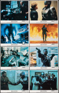 "Movie Posters:Action, RoboCop (Orion, 1987). Very Fine+. Lobby Card Set of 8 (11"" X 14""). Action.. ... (Total: 8 Items)"