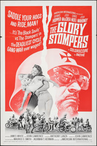 "The Glory Stompers (American International, 1967). Folded, Fine/Very Fine. One Sheet (27"" X 41""). Exploitation..."